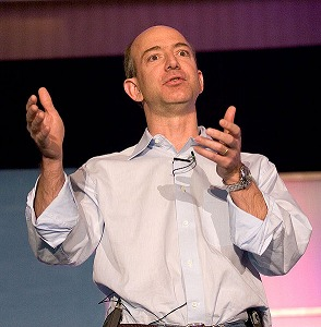 Jeff Bezos, The Founder Of Amazon (Wikimedia)
