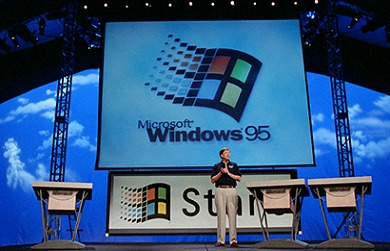 The Introduction of Windows 95