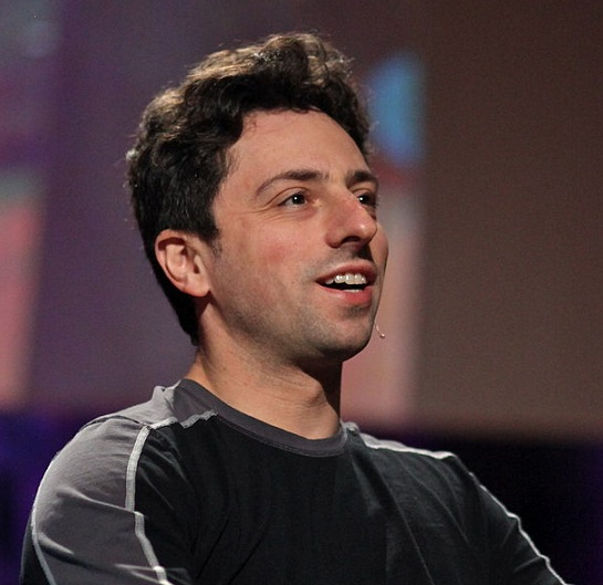Sergey Brin at TED, 2010