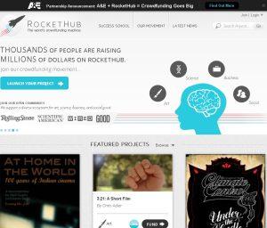 RocketHub Crowdfunding Platform