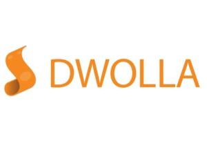 The logo of Dwolla
