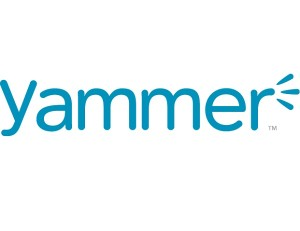 The logo of Yammer