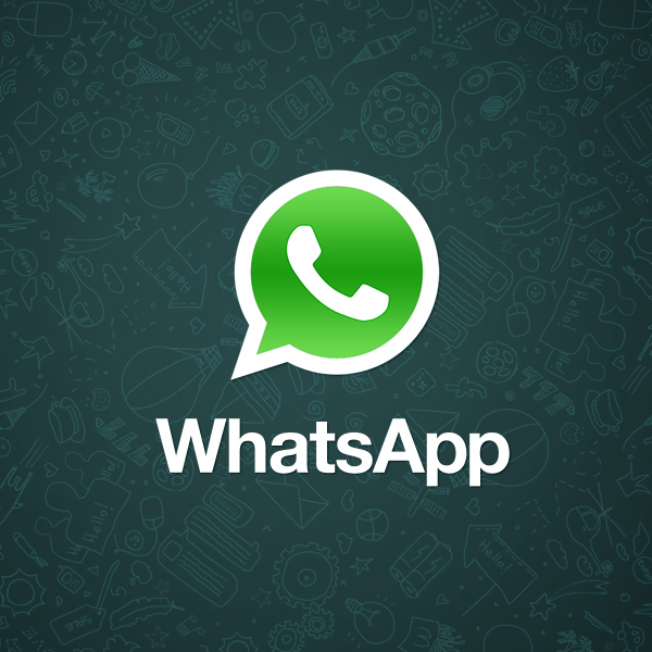 The logo of WhatsApp
