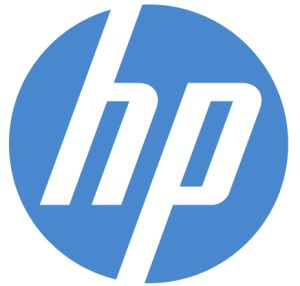 The logo of Hewlett Packard Company