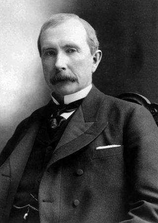 John D. Rockfeller in 1885