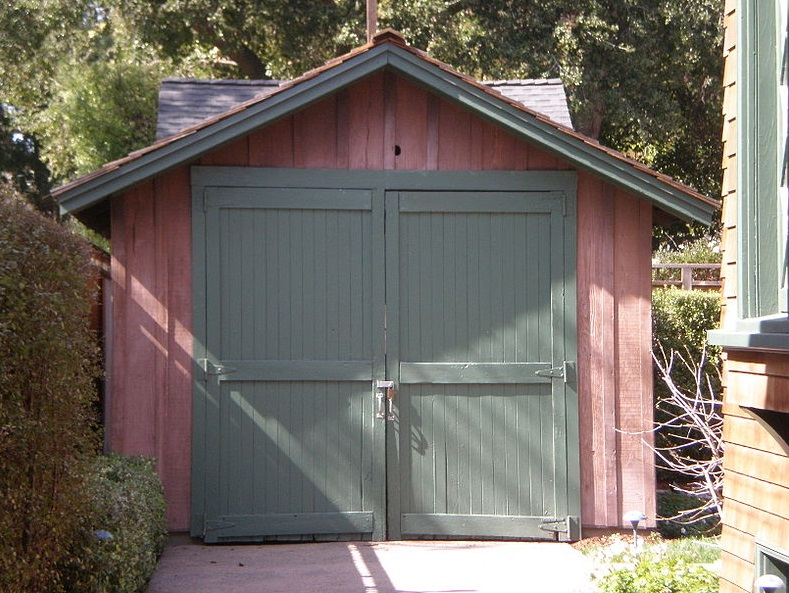 The garage where HP was started.