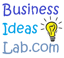 The logo of the site businessideaslab.com