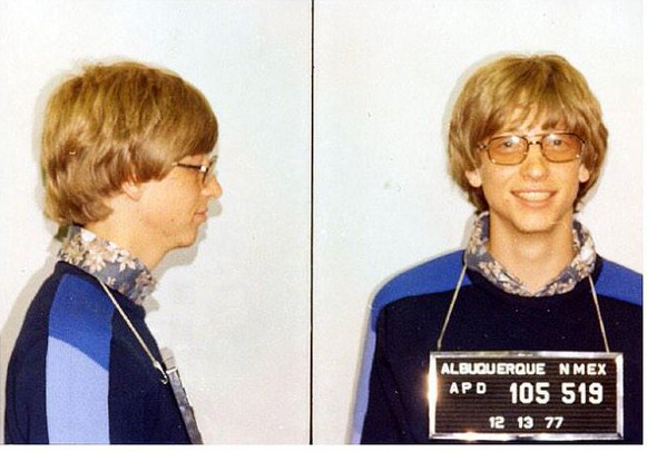 His pictures from The Albuquerque Police Department in 1977.