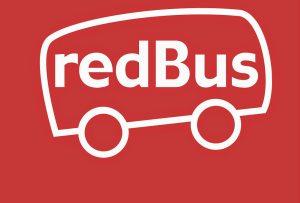 The logo of redBus