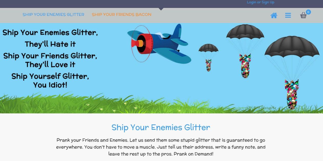 Ship Your Enemies Glitter - Mathew Carpenter's Weird