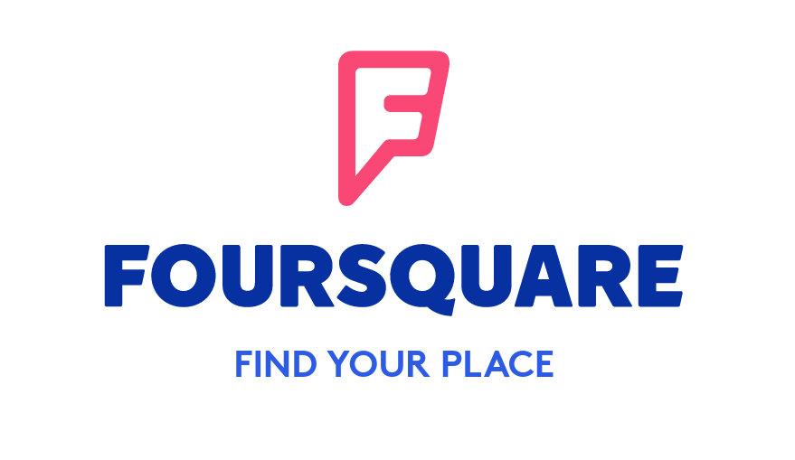 The logo of Foursquare.com