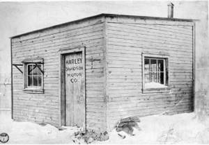 The first Harley Davidson Factory