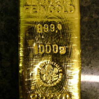 Gold ETFs invest only in gold and follow the price of the precious metal.